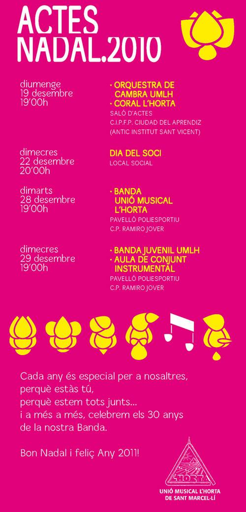 Concerts de Nadal 'Unió Musical L'Horta'