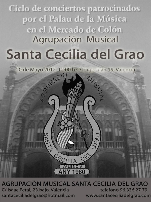 concierto colon mayo 2012 Sta Cecilia del Grao