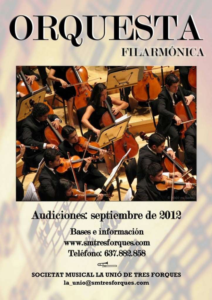 Orquesta Filarmonica Tres Forques