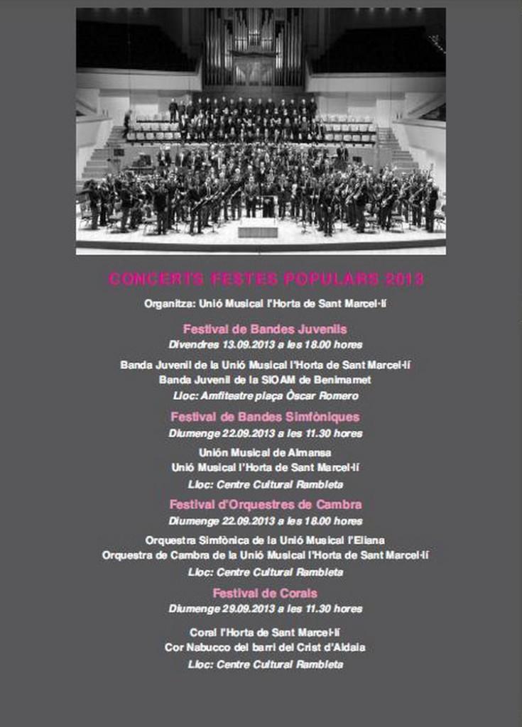 Concerts Festes 1