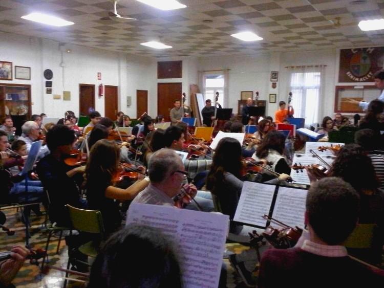 Orquesta Ensayo 2014