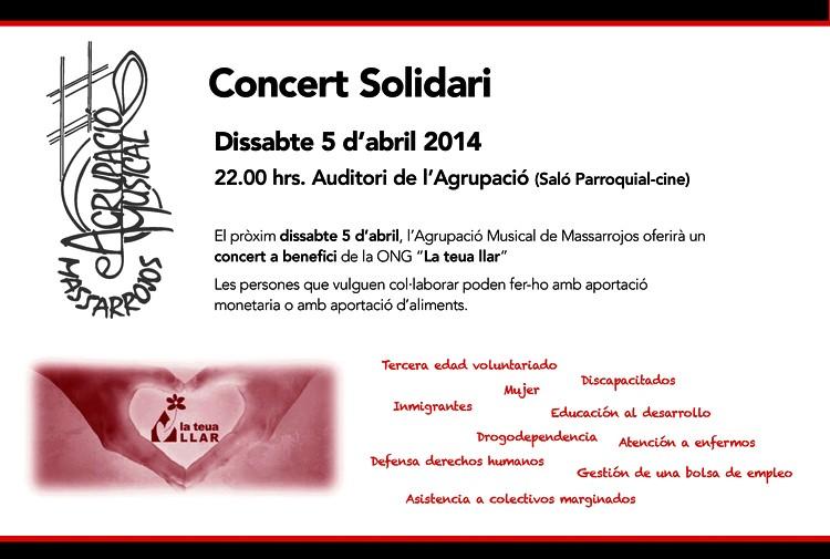 Concert Solidari 2014