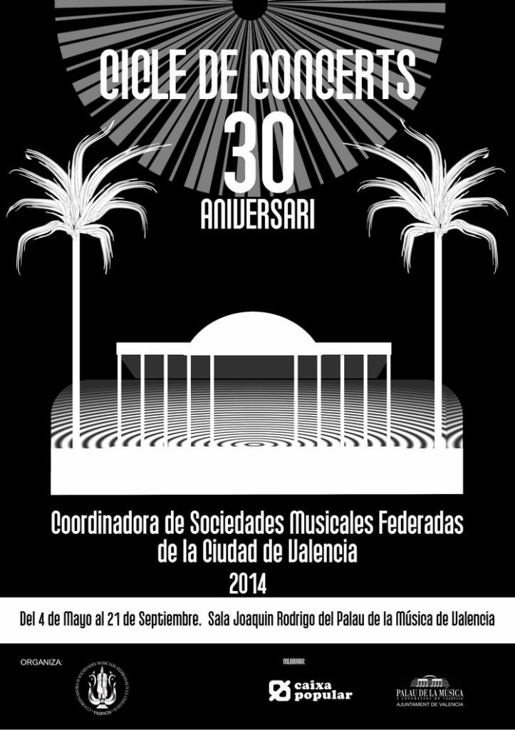 Cartel Palau 30 aniversario