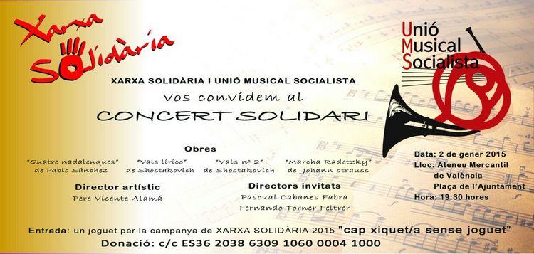 Concert Solidari Banda Socialista