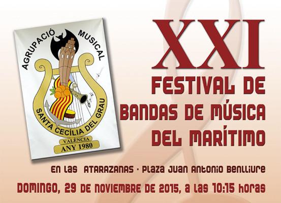 XXI Festival de Bandes de Música del Marítim.