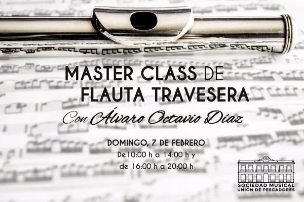 master class flauta travesera banda de musica sociedad musical union de pescadores valencia