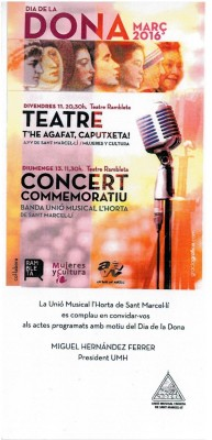 concert dia dona sant marcelli banda de musica cosomuval