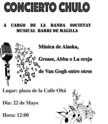 concert chulo barri de malilla