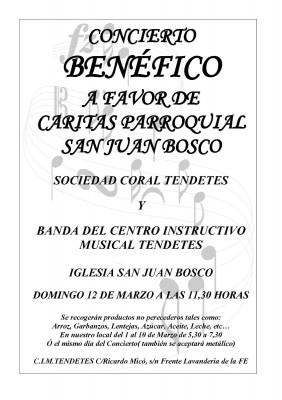 concert cim tendetes diumenge 12 de març