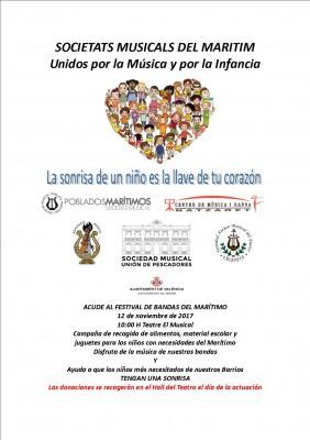 Cartel Festival Niños del Marítimo_