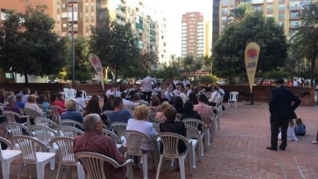 Un concert del cicle Cultura als Barris de 2018 lasBandas